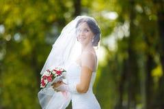 Ritratto di una sposa fotografie stock libere da diritti