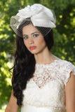 Ritratto di una sposa graziosa Fotografia Stock Libera da Diritti