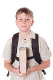 Ritratto di uno scolaro Fotografia Stock Libera da Diritti