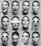 Ritratto divertente Fotografie Stock