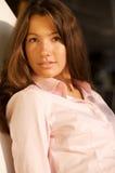Ritratto donne di affari di belle del brunette Fotografia Stock Libera da Diritti