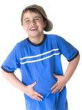 Ritratto emozionalmente del bambino Fotografie Stock