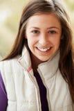 Ritratto esterno dell'adolescente immagine stock libera da diritti
