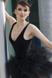 Ritratto esterno di giovane ballerina Immagini Stock