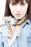 Ritratto facciale di bellezza Fotografia Stock
