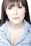 Ritratto facciale di bellezza Fotografia Stock Libera da Diritti