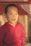 Ritratto felice del ragazzo Fotografie Stock Libere da Diritti