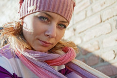Ritratto femminile Immagine Stock Libera da Diritti