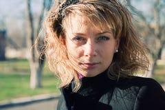 Ritratto femminile Fotografia Stock