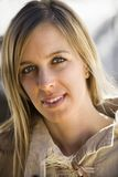Ritratto femminile. Immagine Stock Libera da Diritti