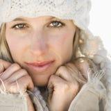 Ritratto femminile. Fotografia Stock Libera da Diritti