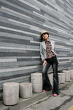 Ritratto femminile asiatico Fotografie Stock Libere da Diritti