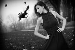 Ritratto gotico fotografie stock
