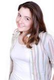 Ritratto grazioso dell'adolescente Fotografia Stock Libera da Diritti