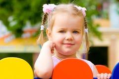 Ritratto grazioso della bambina Fotografie Stock Libere da Diritti