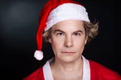 Ritratto il Babbo Natale Fotografia Stock Libera da Diritti