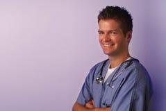 Ritratto medico #4 Fotografie Stock Libere da Diritti
