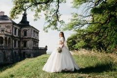 Ritratto meraviglioso di bella sposa fotografia stock libera da diritti