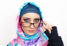 Ritratto musulmano della ragazza Immagini Stock
