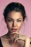 Ritratto naturale della donna della stazione termale di bellezza Fotografia Stock Libera da Diritti