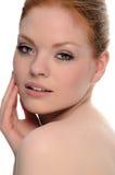 Testarossa di bellezza Fotografia Stock