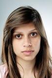 Ritratto normale reale della persona Fotografie Stock Libere da Diritti