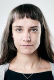 Ritratto normale reale della persona Immagine Stock Libera da Diritti