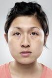Ritratto normale reale della persona Fotografia Stock
