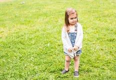 Ritratto offensivo del bambino Fotografie Stock Libere da Diritti