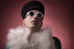 Ritratto omosessuale gay teatrale fotografia stock