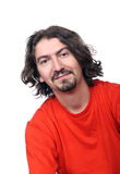 Ritratto peloso dell'uomo Immagini Stock Libere da Diritti