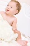 Ritratto piacevole del bambino Fotografie Stock