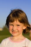 Ritratto prescolare del bambino Fotografia Stock