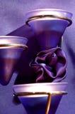 Ritratto romanzesco blu Immagini Stock Libere da Diritti