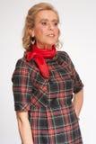 Ritratto senior femminile Fotografia Stock Libera da Diritti