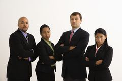Ritratto serio di affari. Immagine Stock Libera da Diritti