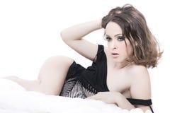 Ritratto sexy Fotografia Stock Libera da Diritti