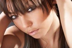 Ritratto sexy della donna Fotografia Stock