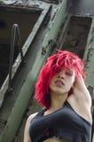 Ritratto sexy della giovane donna Immagine Stock