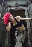 Ritratto sexy della giovane donna Fotografia Stock Libera da Diritti