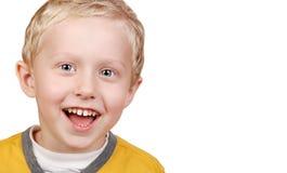 Ritratto sorridente del ragazzo Immagine Stock