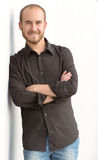Ritratto sorridente dell'uomo Fotografie Stock