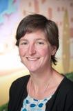 Ritratto sorridente della donna di affari Fotografia Stock
