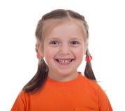 Ritratto sorridente della ragazza immagine stock libera da diritti