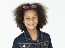 Ritratto sorridente felice del fronte del bambino Immagine Stock