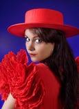 Ritratto spagnolo fotografie stock