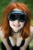 Ritratto strano sorridente Immagine Stock