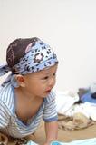Ritratto sveglio del bambino Immagini Stock Libere da Diritti