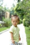 Ritratto sveglio del bambino Fotografie Stock