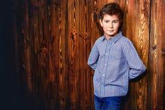 Ritratto sveglio del ragazzo Fotografia Stock
